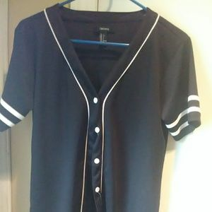 Forever 21 Tops - Baseball style button up